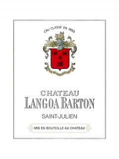 Château Langoa-Barton 2015 Caisse bois d'origine de 6 bouteilles (6x75cl)