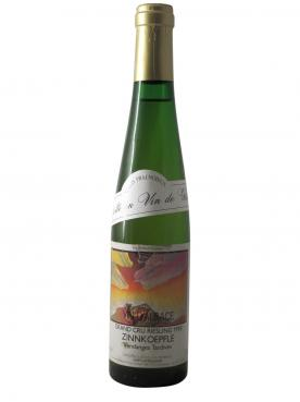 Riesling Grand Cru Zinnkoepfle Vendange Tardive Récolté en Vin de Glace Seppi Landmann 1990 Demie bouteille (37.5cl)