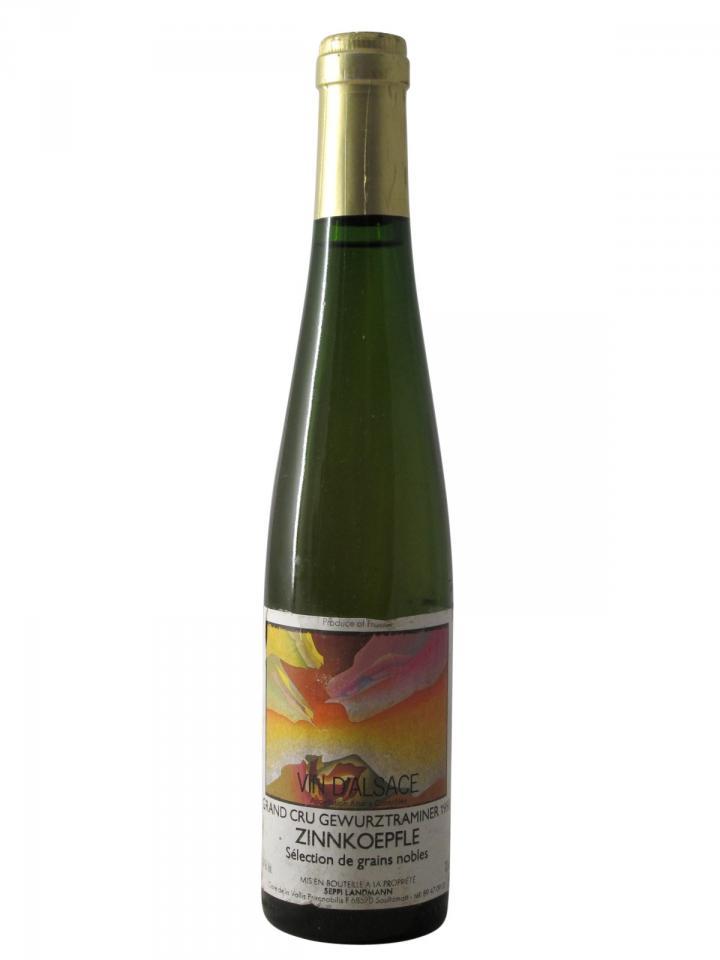 Gewürztraminer Grand Cru Zinnkoepfle Sélection de Grains Nobles Seppi Landmann 1990 Demie bouteille (37.5cl)