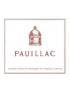Pauillac de Latour 2014 Bouteille (75cl)