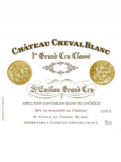 Château Cheval Blanc 2008 Caisse bois d'origine de 6 bouteilles (6x75cl)