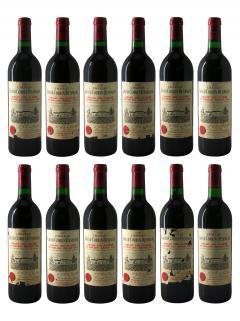 Château Grand Corbin-Despagne 1990 Caisse bois d'origine de 12 bouteilles (12x75cl)