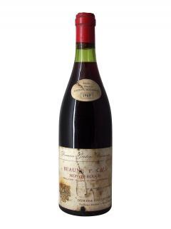 Beaune 1er Cru Montée Rouge Domaine Gaston Boisseaux 1969 Bouteille (75cl)