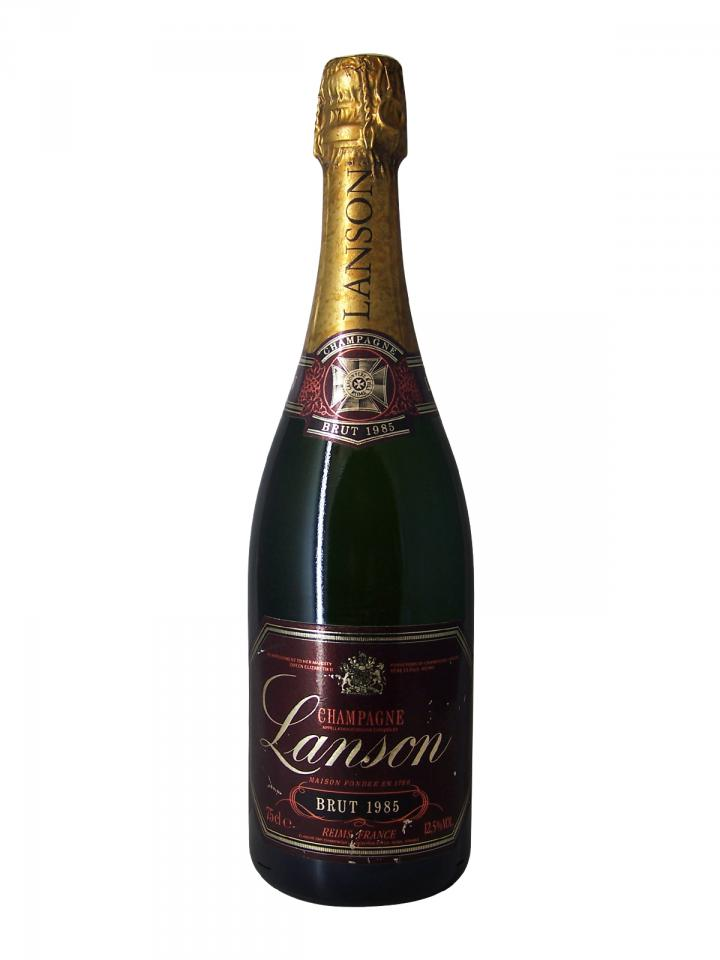 Champagne Lanson Red Label Brut 1985 Bouteille (75cl)