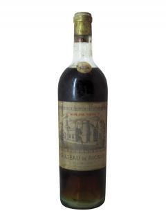 Château de Ricaud Vin de tête 1934 Bouteille (75cl)