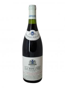 La-Romanée Grand Cru Bouchard Père & Fils Comte Liger-Belair 1992 Bouteille (75cl)