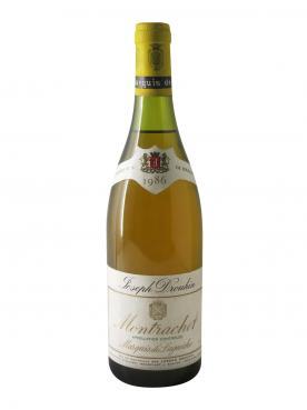 Montrachet Grand Cru Marquis de Laguiche Joseph Drouhin 1986 Bouteille (75cl)