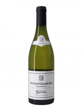 Chablis Grand Cru Les Blanchots Domaine Servin 2018 Bouteille (75cl)