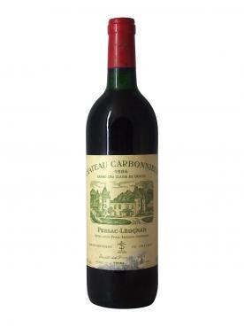 Château Carbonnieux 1986 Bouteille (75cl)