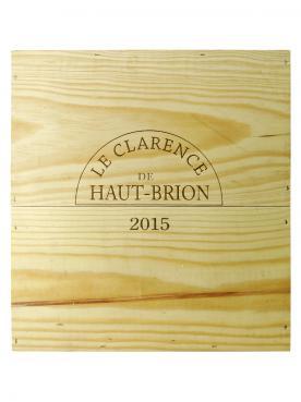 Le Clarence de Haut-Brion 2015 Caisse bois d'origine de 3 magnums (3x150cl)