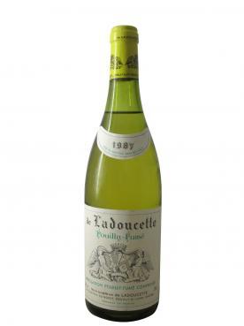 Pouilly fumé De Ladoucette 1987 Bouteille (75cl)