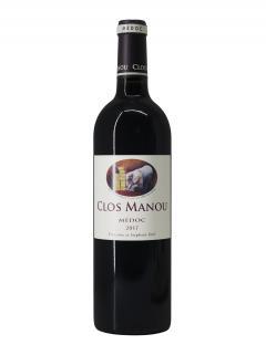 Clos Manou 2017 Bouteille (75cl)
