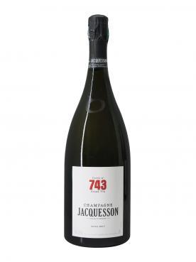Champagne Jacquesson Cuvée n°743 Extra Brut Non millésimé Coffret d'un magnum (150cl)