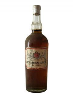 Sirop de Curaçao Fantaisie Inconnu Années 1940 Bouteille (100cl)