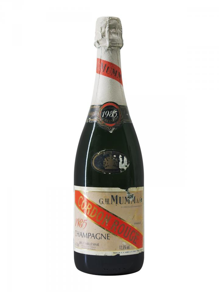 Champagne Mumm Cordon Rouge Brut 1985 Bouteille (75cl)