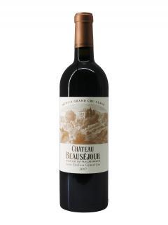 Château Beauséjour Duffau Lagarrosse 2017 Bouteille (75cl)