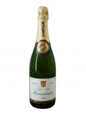 Champagne Baumanière Extra Brut 1976 Bouteille (75cl)