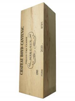 Château Boyd Cantenac 2020 Caisse bois d'origine d'un double magnum (1x300cl)