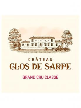 Château Clos de Sarpe 2020 Caisse bois d'origine d'un magnum (1x150cl)