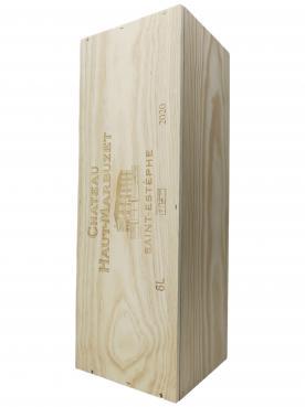 Château Haut-Marbuzet 2020 Caisse bois d'origine d'une impériale (1x600cl)