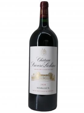 Château Prieuré-Lichine 2020 Caisse bois d'origine d'un magnum (1x150cl)