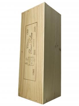 Château Prieuré-Lichine 2020 Caisse bois d'origine d'un double magnum (1x300cl)