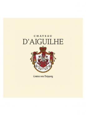 Château d'Aiguilhe 2015 Caisse bois d'origine de 6 bouteilles (6x75cl)
