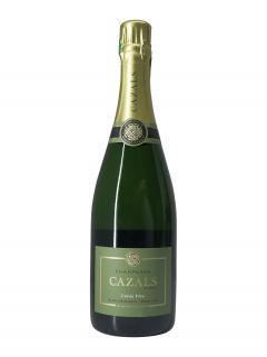 Champagne Claude Cazals Cuvée Vive Blanc de Blancs Extra Brut Grand Cru Non millésimé Bouteille (75cl)