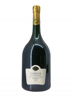 Champagne Taittinger Comtes de Champagne Blanc de Blancs Brut 2008 Caisse bois d'origine d'un mathusalem (1x600cl)