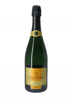 Champagne Veuve Clicquot Ponsardin Brut 2012 Coffret d'une bouteille (75cl)