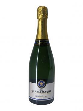 Champagne Guy Charlemagne Réserve Brut Blanc de Blancs Brut Grand Cru Non millésimé Bouteille (75cl)