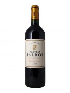Château Talbot 2005 Caisse bois d'origine de 6 bouteilles (6x75cl)