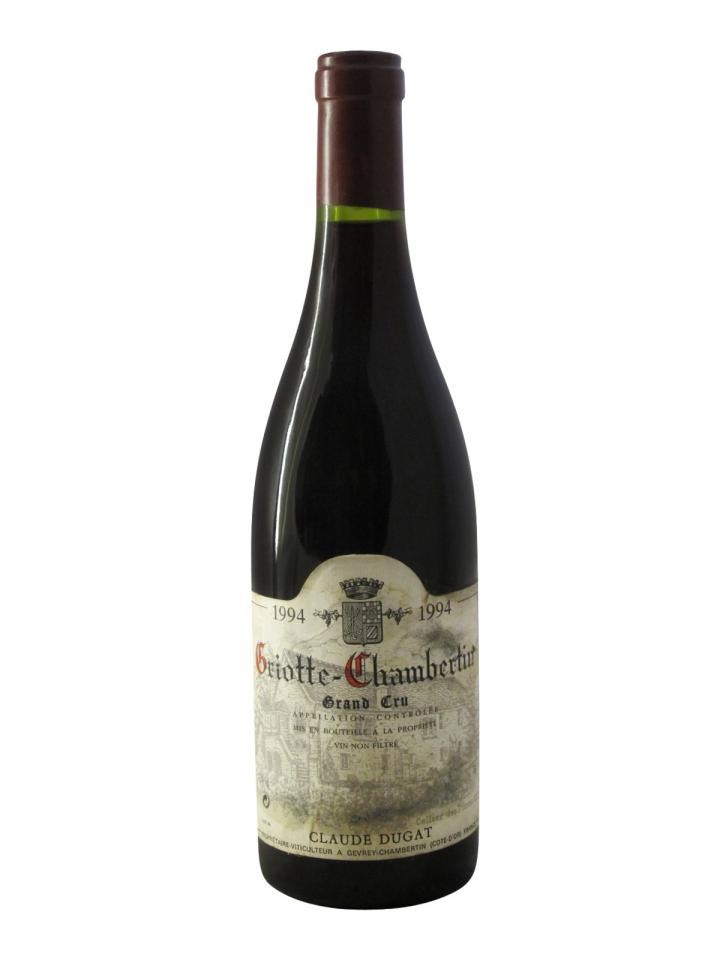 Griottes-Chambertin Grand Cru Claude Dugat 1994 Bouteille (75cl)