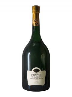 Champagne Taittinger Comtes de Champagne Blanc de Blancs Brut 2007 Caisse bois d'origine d'un mathusalem (1x600cl)