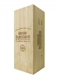 Château Beauséjour Duffau Lagarrosse 2017 Caisse bois d'origine d'un double magnum (1x300cl)