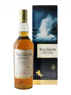 Whisky 18 ans Talisker Non millésimé Coffret d'une bouteille (70cl)