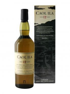 Whisky 12 ans Caol Ila Non millésimé Coffret d'une bouteille (70cl)