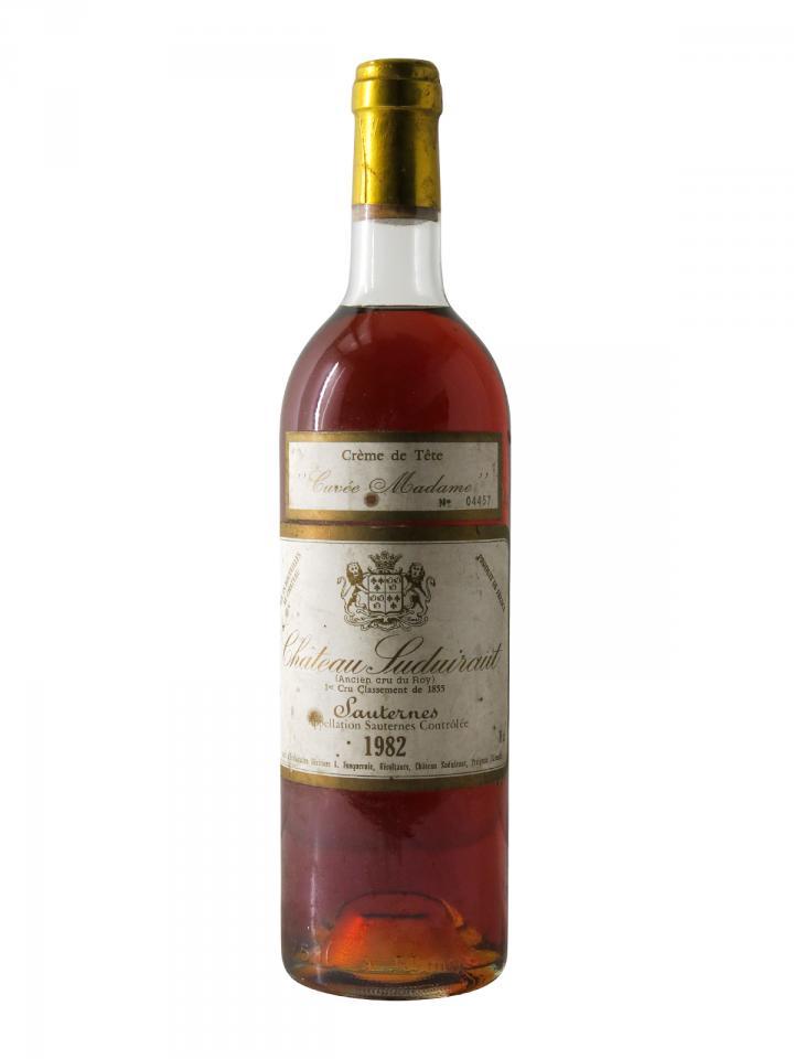Château Suduiraut Crème de Tête 1982 Bouteille (75cl)
