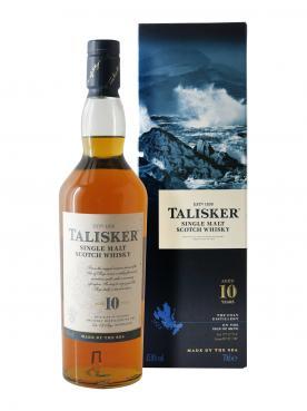 Whisky 10 ans Talisker Non millésimé Bouteille (70cl)