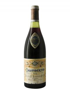 Chambertin Grand Cru Domaine Armand Rousseau 1976 Bouteille (75cl)