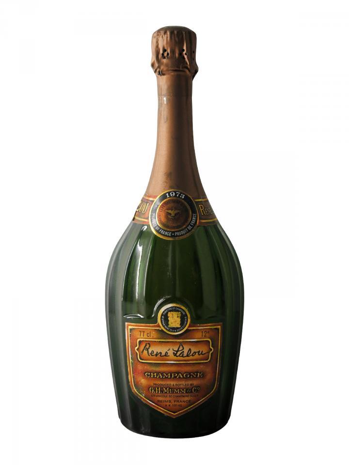 Champagne Mumm René Lalou Brut 1973 Bouteille (75cl)