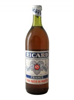 Pastis Ricard Non millésimé Bouteille (100cl)