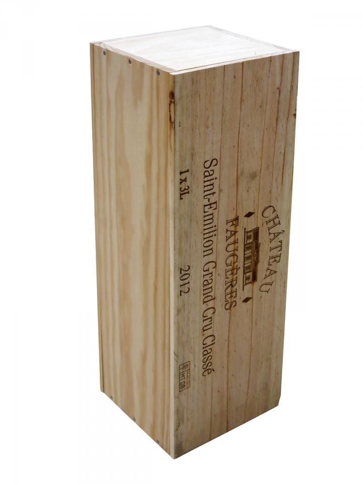 Château Faugères 2012 Caisse bois d'origine d'un double magnum (1x300cl)