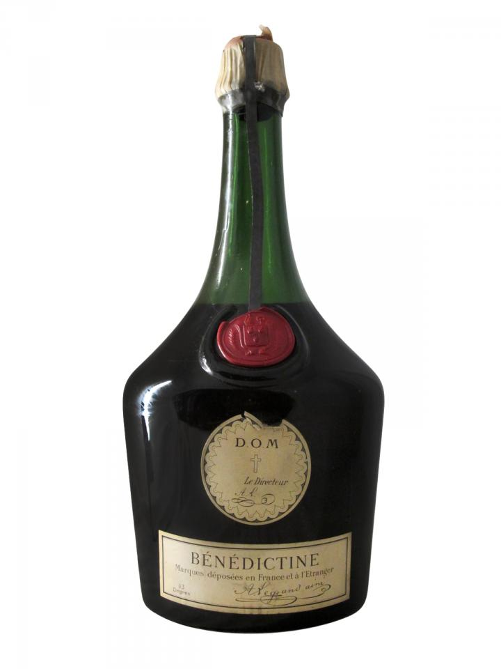 Bénédictine D.O.M Benedictine SA Années 1950 Double magnum (350cl)
