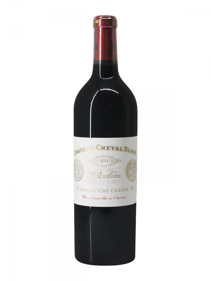Château Cheval Blanc 2011 Caisse bois d'origine de 6 bouteilles (6x75cl)