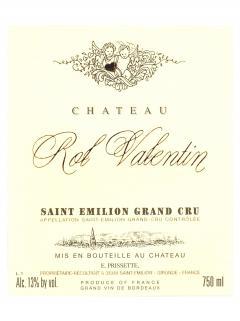 Château Rol Valentin 2011 Caisse bois d'origine de 6 bouteilles (6x75cl)