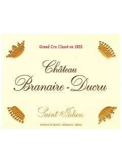 Château Branaire-Ducru 2012 Caisse bois d'origine de 6 bouteilles (6x75cl)