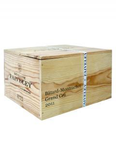 Bâtard-Montrachet Grand Cru Domaine Faiveley 2011 Caisse bois d'origine de 6 bouteilles (6x75cl)