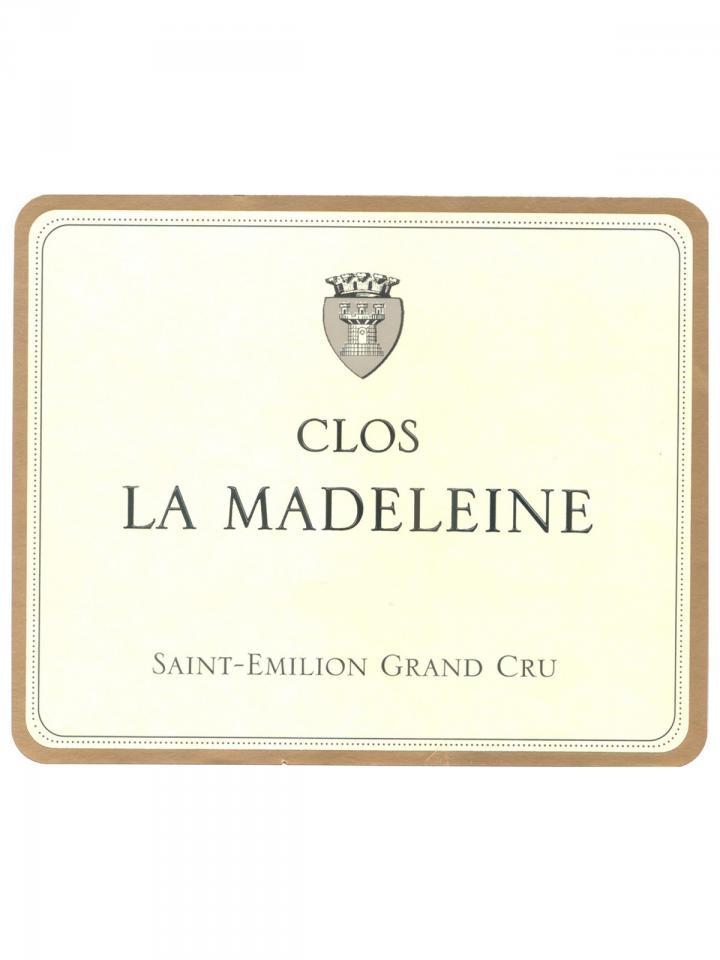 Clos La Madeleine 2013 Caisse bois d'origine de 6 bouteilles (6x75cl)
