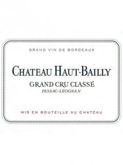 Château Haut-Bailly 1990 Caisse bois d'origine de 12 bouteilles (12x75cl)